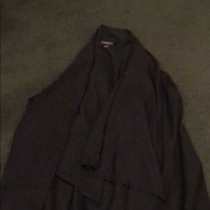 Lane bryant black cardigan